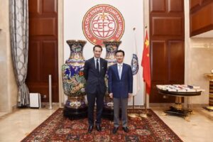 Read more about the article Who controls China?  Alexandre de Rothschild (L) with CEFC China Energy Chairman