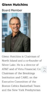 The other owners of SolarWinds is Silver Lake Partners (SLP).SLP Co-founder Gl